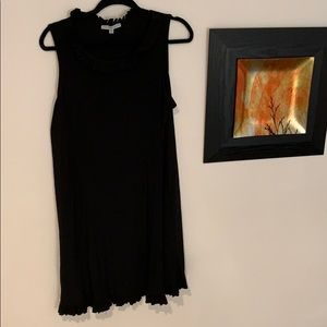 Annalee + hope black sleeveless work dress
